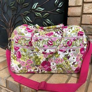 "Vera Bradley "" Make Me Blush"" Travel Bag!"